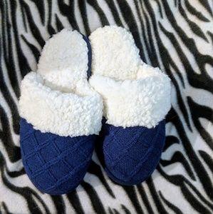 Victoria's Secret Navy Blue Slippers
